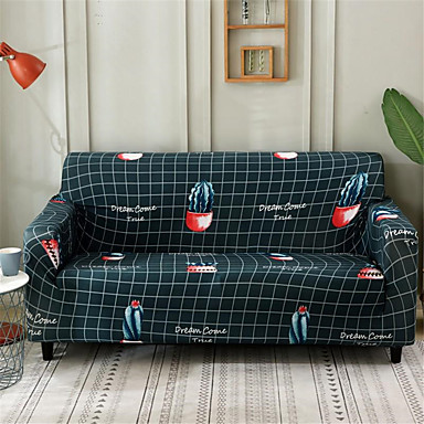 แคคตัสทนทานสูงยืดหยุ่น slipcovers โซฟาปกแปนเด็กซ์ล้างทำความสะอาดได้ที่นอนครอบคลุม