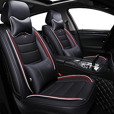 levne Doplňky do interiéru-obchodní přední sedadla univerzální autosedačky kryt hlavy a pasu polštářky luxusní luxusní vozidla příslušenství pro univerzální / polyester / koženka / bavlna \ t