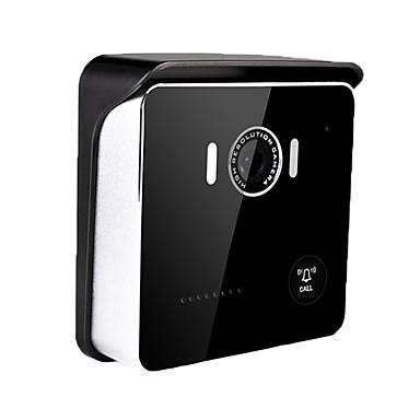 CSY-W915 WIFI Photographed ไม่มีหน้าจอ (การส่งออกโดย app) โทรศัพท์มือถือ 1280*720 pixel หนึ่งต่อหนึ่งกริ่งวีดีโอประตูหน้าบ้าน