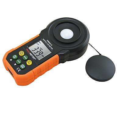 billige Test-, måle- og inspeksjonsverktøy-digital lux meter 200000 lux lysmåler testspekter auto rekkevidde høy presisjon digital luxmeter illuminometer måling pm6612