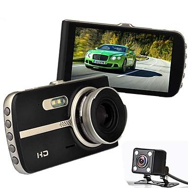 levne Auto Elektronika-A23 1080p HD Auto DVR 140 stupňů Široký úhel 4 inch IPS Dash Cam s Detekce pohybu / Smyčkové nahrávání / Záznam cyklu smyčky Záznamník vozu
