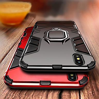 povoljno iPhone maske-Θήκη Za Apple iPhone XS / iPhone XR / iPhone XS Max Otporno na trešnju / Prsten držač Stražnja maska Oklop Tvrdo PC