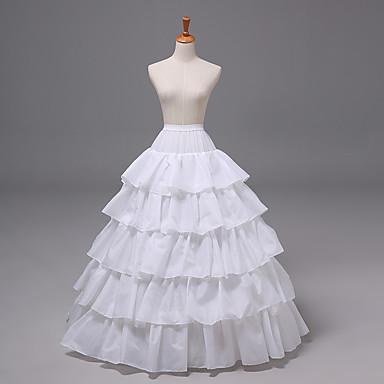 เจ้าสาว โลลิต้าแบบคลาสสิก 1950s เป็นชั้น หนึ่งชิ้น ชุดเดรส Petticoat กระโปรงผายก้น สำหรับผู้หญิง เด็กผู้หญิง ตูเล่ เครื่องแต่งกาย ขาว Vintage คอสเพลย์ งานแต่งงาน ปาร์ตี้ เจ้าหญิง