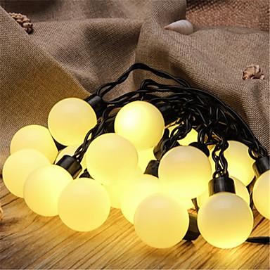5ม. ไฟสาย 20 ไฟ LED ขาวนวล / White / น้ำเงิน Creative / ปาร์ตี้ / ตกแต่ง 220-240 V 1pc / IP44