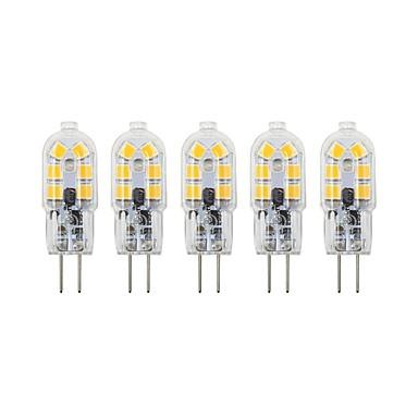 5pcs 3 W LED svjetla s dvije iglice 200-300 lm G4 G8 T 12 LED zrnca SMD 2835 Lijep 12 V