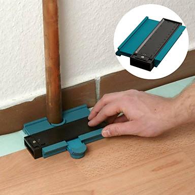 levne Testovací, měřící a kontrolní vybavení-5inch obrys profil obrysy dlaždice laminátové dlaždice hrany tvarování dřeva opatření pravítko abs kontury měřidlo duplikátor