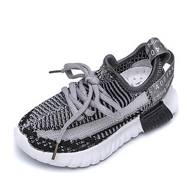 เด็กผู้ชาย / เด็กผู้หญิง เท้าไฟ ตารางไขว้ รองเท้าผ้าใบ เด็กวัยหัดเดิน (9m-4ys) / เด็กน้อย (4-7ys) / Big Kids (7 ปี +) วสำหรับเดิน สีดำ / สีเหลือง / สีชมพู ฤดูร้อน / ยาง