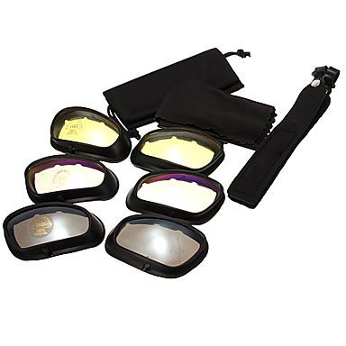 povoljno Motori i quadovi-Uniseks Motociklističke naočale Sportske Vjetronepropusnost / Otpornost na udarce / Zaštitna maska PC