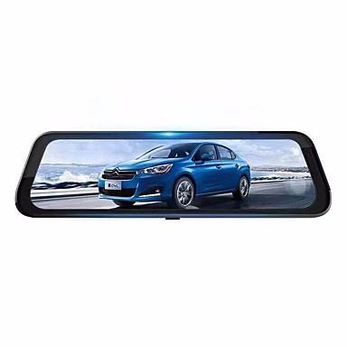 voordelige Automatisch Electronica-K688A HD Auto DVR 170 graden Wijde hoek 2MP CMOS 10.6 inch(es) IPS Dash Cam met Nacht Zicht / G-Sensor / Bewegingsdetectie Neen Autorecorder