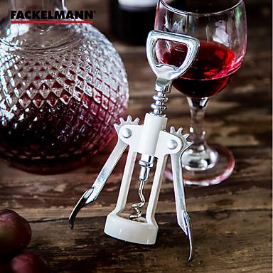 1pc โลหะผสมสังกะสี ABS + PC ที่เปิดขวด อุปกรณ์บาร์ & ไวน์ Corkscrews & Openers Corkscrews & Openers ง่าย คลาสสิก ใช้งานง่าย ไวน์ อุปกรณ์ สำหรับ barware
