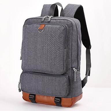 preiswerte Laptoptaschen-Oxford Tuch Reißverschluss Laptop Tasche Alltag Blasses Blau / Dunkelgrau / Hellgrau / Herrn