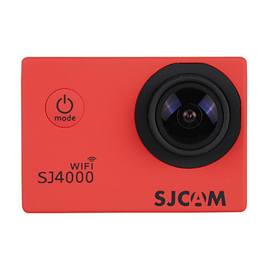 billige Bil-DVR-SJ4000 480p / 720p / 1080p HD Bil DVR 170 grader Bred vinkel LCD Dash Cam med WIFI / Hvitbalanse Bilopptaker