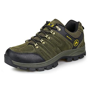 สำหรับผู้ชาย รองเท้าผ้าใบ รองเท้าเดินป่า ระบายอากาศ ป้องกันการลื่นไถล สบาย ต่ำสูงสุด การเดินเขา การปีนหน้าผา ข้ามประเทศ ฤดูใบไม้ร่วง ฤดูใบไม้ผลิ สีดำ สีน้ำตาล อาร์มี่ กรีน