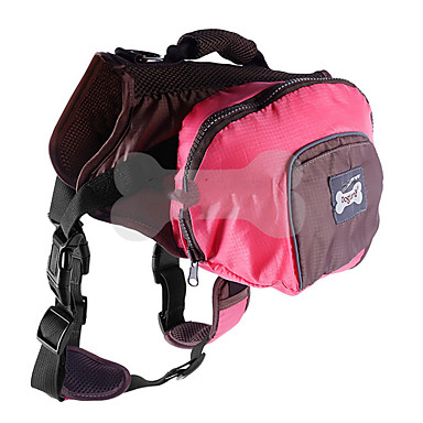 หนู สุนัข สัตว์เลี้ยง ให้บริการ & เป้เดินทาง กระเป๋าสะพาย สัตว์เลี้ยง ผู้ขนส่ง Portable แคมป์ปิ้ง & การปีนเขา สามารถปรับความยืดหยุ่น สีพื้น ส้ม สีเขียว สีชมพู