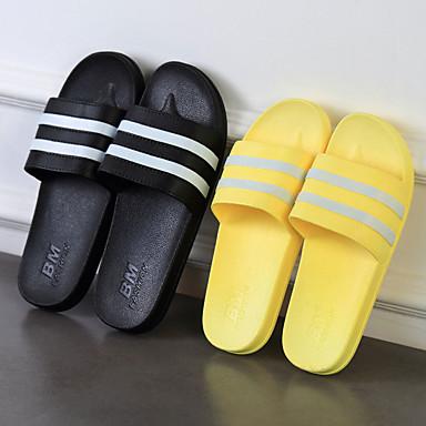 รองเท้าแตะผู้ชาย / รองเท้าแตะของผู้หญิงบ้านรองเท้าแตะลำลองพีวีซี (โพลีไวนิลคลอไรด์) รองเท้าพิมพ์สัตว์