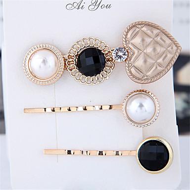 levne Dámské šperky-Dámské dámy Vintage Módní Elegantní Napodobenina perel Slitina Ležérní Rande - Jednobarevné
