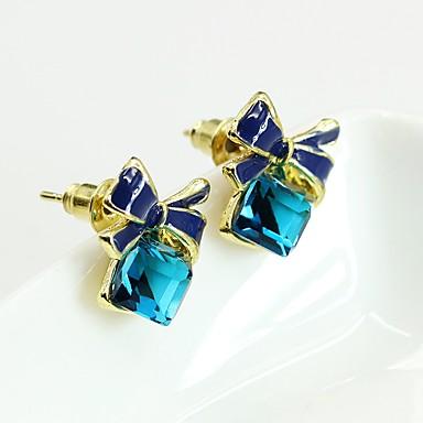 povoljno Modne naušnice-Žene Naušnica Zodijak Naušnice Jewelry Svjetloplav / Navy Plava Za Spoj Voljeni 1 par