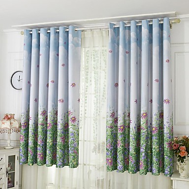 [$22.67] Contemporary One Panel Curtain Bedroom Curtains