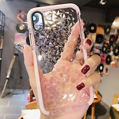 povoljno iPhone maske-Θήκη Za Apple iPhone XS / iPhone XR / iPhone XS Max Otporno na trešnju Stražnja maska Jednobojni Mekano TPU