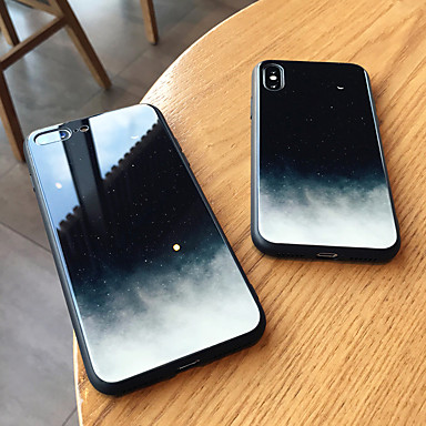 povoljno iPhone maske-Θήκη Za Apple iPhone XS / iPhone XR / iPhone XS Max Zrcalo Stražnja maska nebo Tvrdo Kaljeno staklo