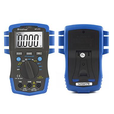 levne Testovací, měřící a kontrolní vybavení-mini multimetro digitální holdpeak hp-37c auto rozsah true rms ac / dc napětí digitální multimetr teplota ncv elektrický tester
