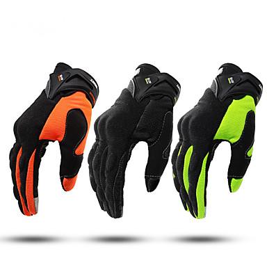 billige Motorsykkel & ATV tilbehør-full finger unisex motorsykkel hansker fiber non slip / pustende / lett