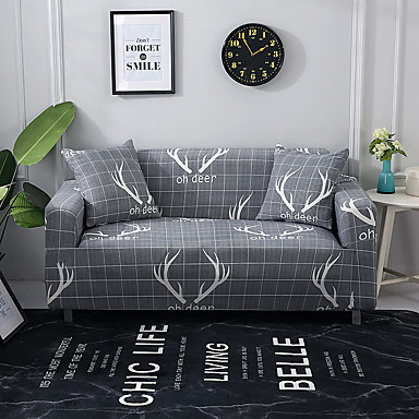 Fl Print Sofa Cover Stretch