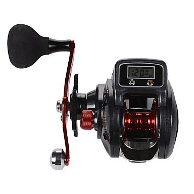 billige Fisking-Fiskesneller Agnkast Hjul / Elektrisk Fiskehjul 6.3:1 Gear Forhold+16.0 Kulelager Høyre-Handed / Venstrehendt Søfisking / Fluefisking / Agn Kasting