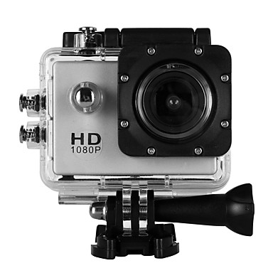 cheap Sports Action Cameras & Accessories  For Gopro-SJ4000B vlogging Waterproof / Outdoor 32 GB 4x 2 inch Single Shot 30 m