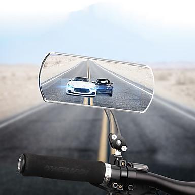 billige Sykkeltilbehør-Bakspeil Speil til sykkelstyre Konvekst speil Justerbare Holdbar Enkel å installere Sykling motorsykkel Sykkel Aluminum Alloy Svart Sølv Rød 2 pcs Fjellsykkel Veisykling Motorsykkel