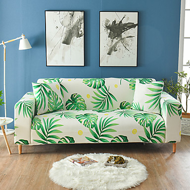cheap Slipcovers-Big Printed Sofa Cover Stretch Couch Cover Sofa Slipcovers for 3 Cushion Couch with One Free Pillow Case