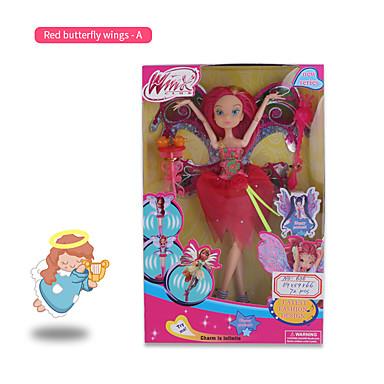 levne Doplňky pro panenky-Interactive Doll Děvčata 24 inch Dárek Děti a dospívající Nový přírůstek Kid je Dívčí Hračky Dárek