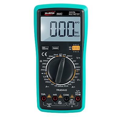 voordelige Test-, meet- & inspectieapparatuur-digitale multimeter 890c 3000counts ture-rms automatische meting non-contact type spanningsmeting spraakrapport (multi-talen)