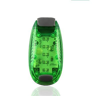 preiswerte Reflektierende Kleidung und Accessoires-LED Licht / Sicherheitsleuchten / Warnlicht zum Joggen 1 Stück Nachtsicht / Einfach zu tragen / Langlebig ABS für Camping / Wandern / Erkundungen / Radsport Weiß
