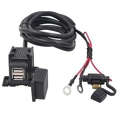 povoljno Motori i quadovi-dvostruki usb adapter vodootporan punjač za motocikle za bmw suzuki