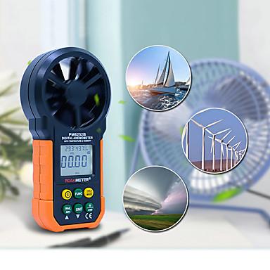 levne Testovací, měřící a kontrolní vybavení-ms6252b digitální anemometr rychlost větru objem vzduchu měření usb data nahrávání vzduchu vlhkost rh usb port