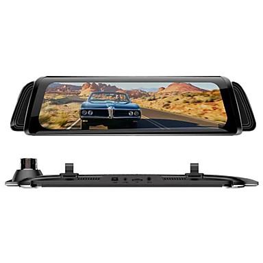 billige Bil-DVR-H11A 1080p Bil DVR 170 grader Bred vinkel 10 tommers IPS Dash Cam med Night Vision / G-Sensor / Parkeringsmodus Bilopptaker