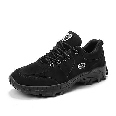 Homens Sapatos Confortáveis Jeans Outono / Outono & inverno Esportivo / Casual Tênis Aventura / Caminhada Estampa Colorida Preto / Khaki / Atlético / Botas do Deserto