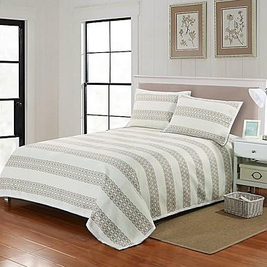 preiswerte Bettbezüge Sets & Kissenbezüge-Betttuch - Polyester Reaktivdruck Geometrisch 1 Stk. Betttuch