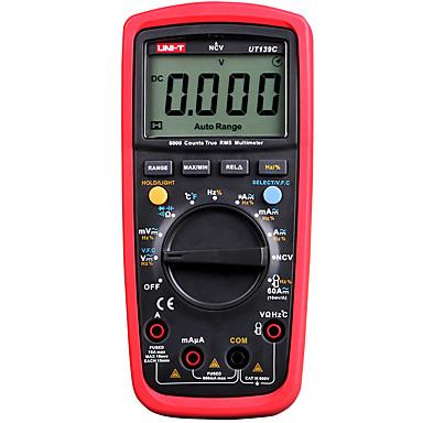 voordelige Test-, meet- & inspectieapparatuur-uni-t ut139e true rms digitale multimeter ac dc voltmeter lpf pass filter loz (lage impedantie input) functie / temperatuur test eb
