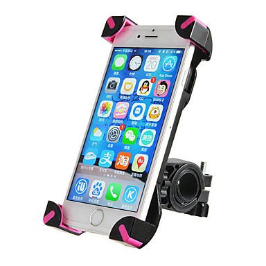 billige Sykkeltilbehør-ROCKBROS Telefonstativ til sykkel Anti-Skli Anti-Ryste / Demping Flyvning med 360 graders flipp til Vei Sykkel Fjellsykkel BMX PVC iPhone X iPhone XS iPhone XR Sykling Svart Rosa 1 pcs