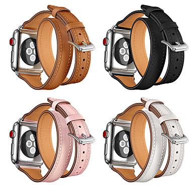 preiswerte Blitzverkauf-Uhrenarmband für Apple Watch Series 5/4/3/2/1 Apple Sport Band Echtes Leder Handschlaufe