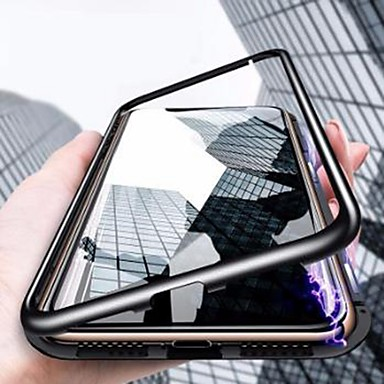 povoljno iPhone maske-Θήκη Za Apple iPhone XS / iPhone XR / iPhone XS Max Otporno na trešnju / Ultra tanko / Prozirno Korice Jednobojni Tvrdo Kaljeno staklo