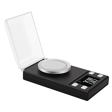 preiswerte Waagen-0,005g 50g hochpräzise Labor Laborgewicht Balance Schmuck Diamant Kräuter Gramm Gold digitale elektronische Waage
