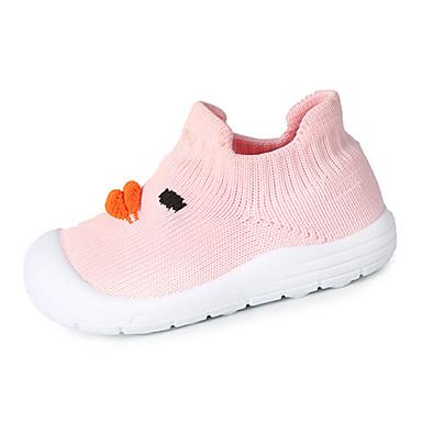 voordelige Babyschoenentjes-Jongens / Meisjes Comfortabel Tricot Loafers & Slip-Ons Geel / Blauw / Roze Lente / Herfst