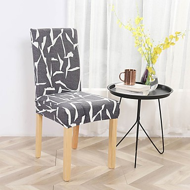cheap Slipcovers-Chair Cover Dining Chair Slipcover Super Fit Stretch Removable Washable Short Dining Chair Protector Cover Seat Slipcover for Hotel/Dining Room/Ceremony/Banquet Wedding Party
