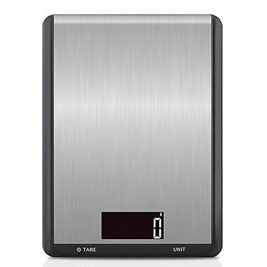 preiswerte Waagen-10 kg / 5 g digitale küchenwaage edelstahl multifunktionsnahrung diät küche gewicht waage elektronische waage kochen werkzeuge