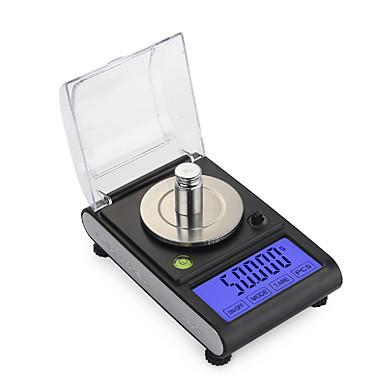 levne Testovací, měřící a kontrolní vybavení-0,005g 50g vysoká přesnost laboratorní laboratorní váha šperky diamanty byliny gramy zlaté digitální elektronické váhy