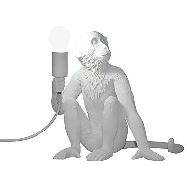 preiswerte Deko-Lichter-Moderne zeitgenössische Kreativ Tischleuchte Für Shops / Cafés Harz 110-120V / 220-240V Gold / Weiß / Schwarz