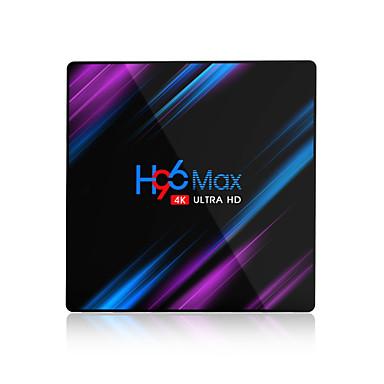 preiswerte Audio & Video für Ihr Zuhause-Quad-Core-HD-TV-Box h96 max k2 rk3318 Doppel-WLAN mit Bluetooth 4 g32g Android 9.0